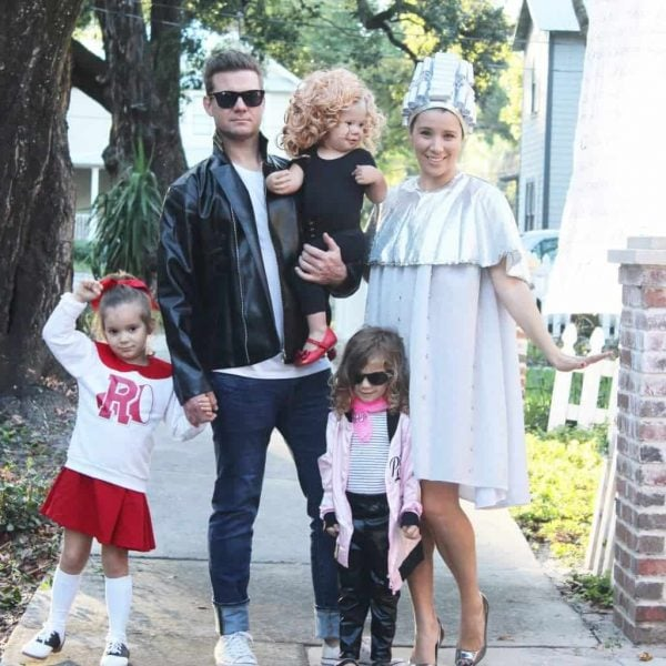 Grease costumes for family