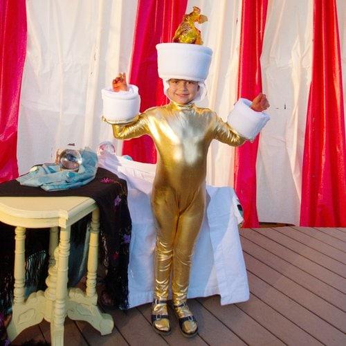 Lumiere kids costume idea