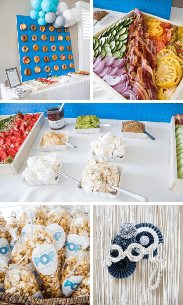 Bagel Themed Baby Shower