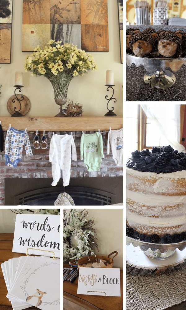 More Woodland Baby Shower Theme Ideas