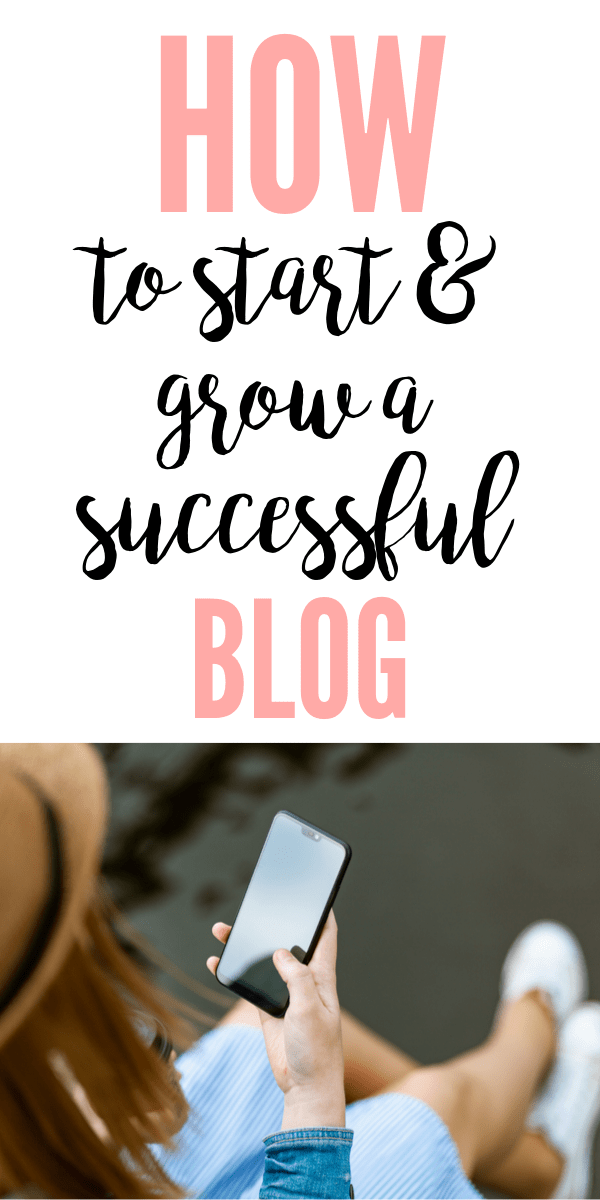 I'm sharing all my best tips for how to start a blog for beginners!