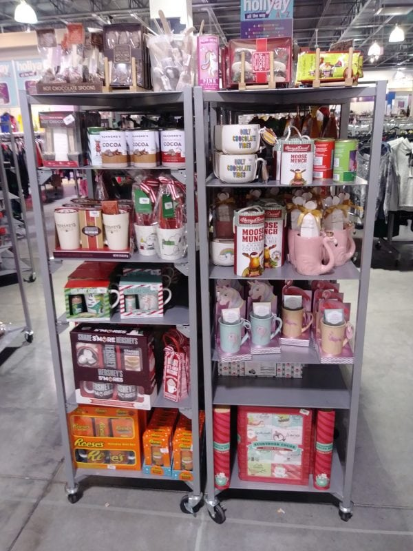 Displays of gifts for family Christmas traditions.