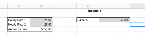 Use this free excel budget template to track your expenses.