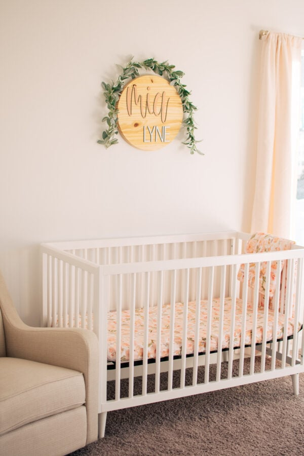 Affordable and sweet nursery ideas.