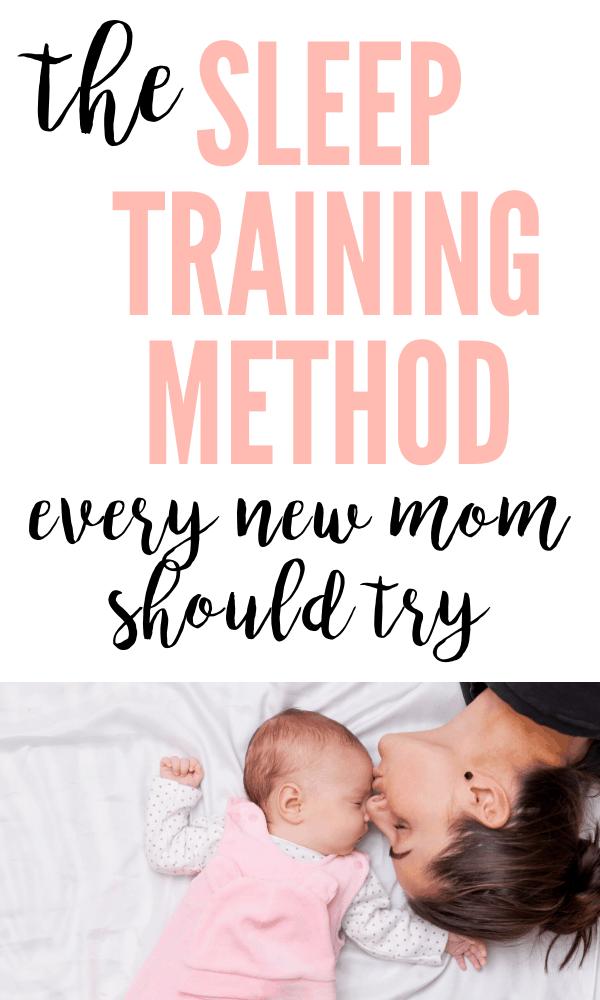 The best sleep training baby method for newborns.