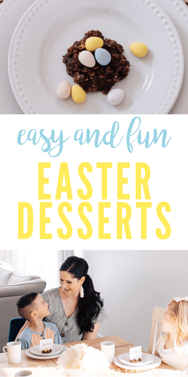 Make these fun Easter desserts your kids will love!