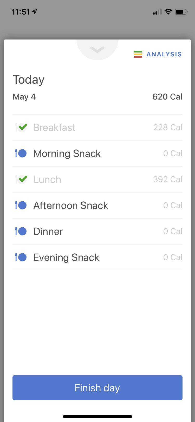 Noom calorie input.