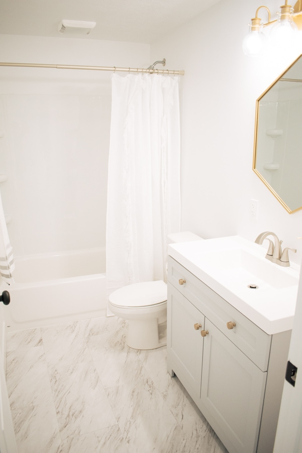 Small basement bathroom ideas on a budget.