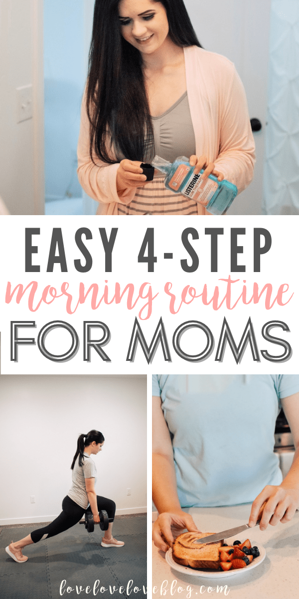 Try this easy morning routing for moms!