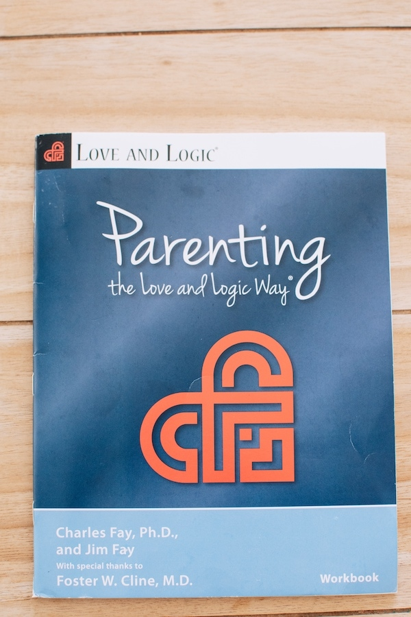 Parenting with Love and Logic workbook.