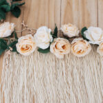 Floral wall hanging supplies