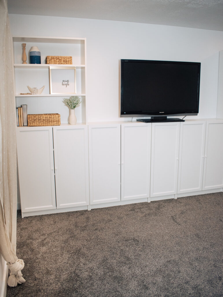 Billy bookcase built ins.