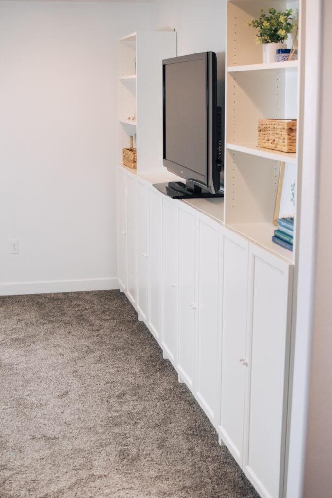 DIY IKEA built ins