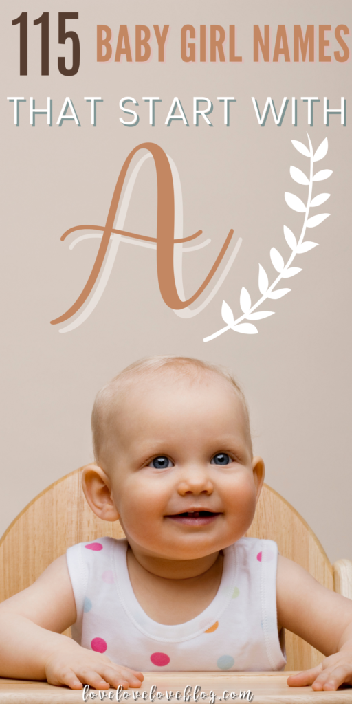 A pin image with text and a baby girl smiling in a high chair.