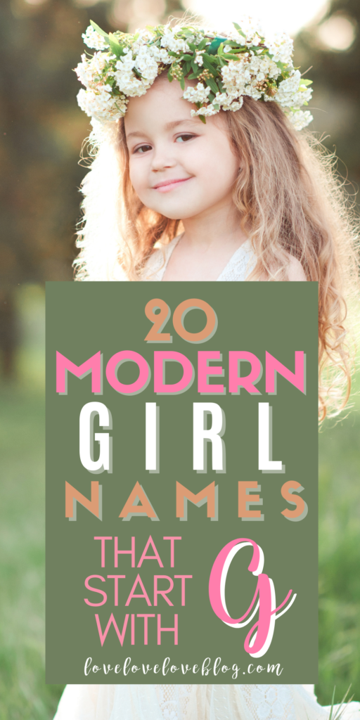 Pinterst graphic with text and little girl in white dress and flower crown.