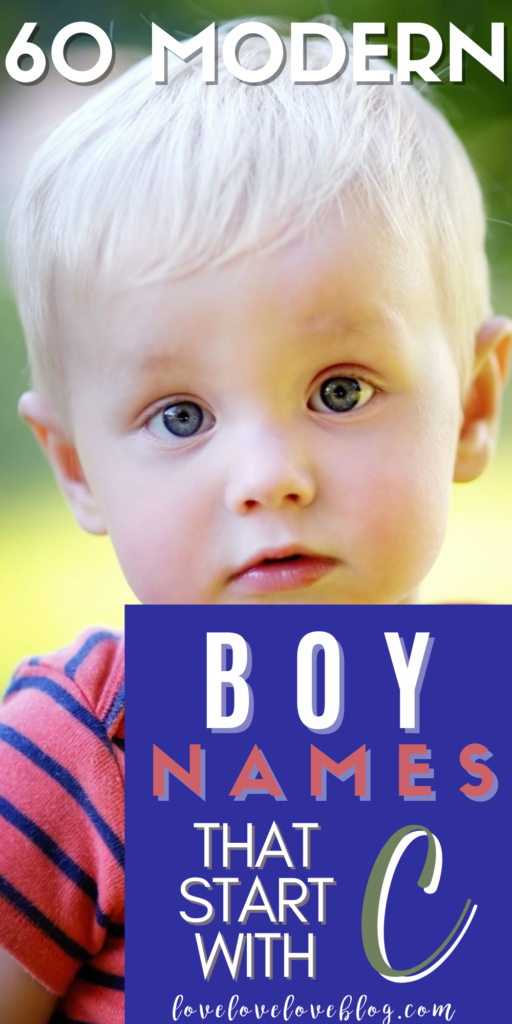 Pinterest graphic with text and baby boy in red and blue striped shirt.