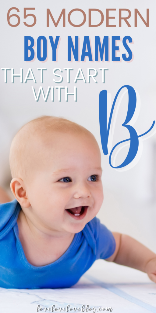 Pinterest graphic with text and baby boy smiling on tummy.