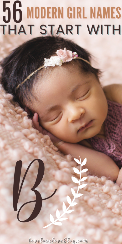Pinterest graphic with text and baby girl sleeping.