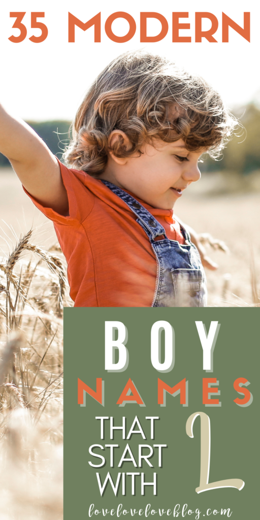 Pinterest graphic with text and little boy playing in wheat field.