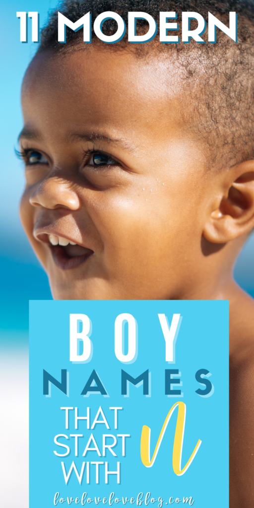 Pinterest graphic with text and toddler boy playing at the beach.