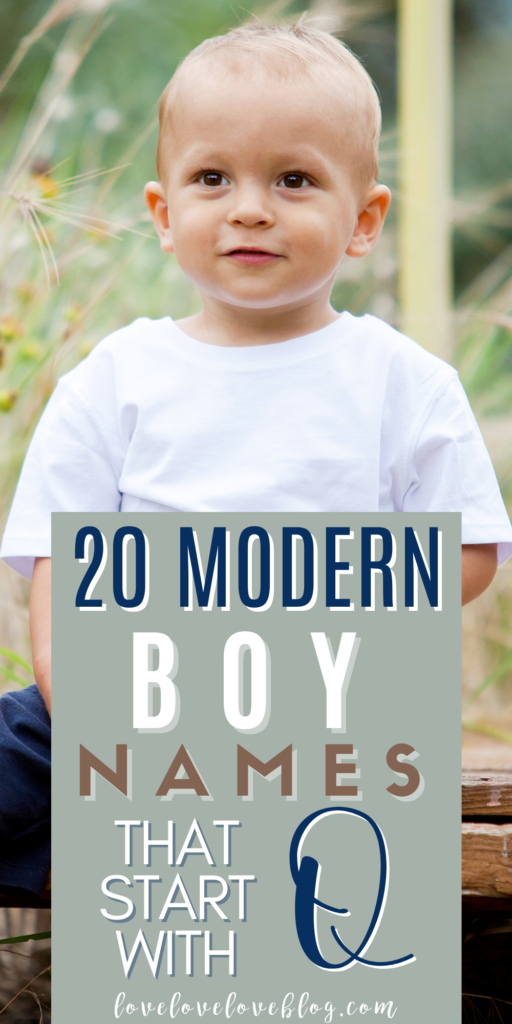 Pinterest graphic with text and little boy sitting on wooden steps outside.