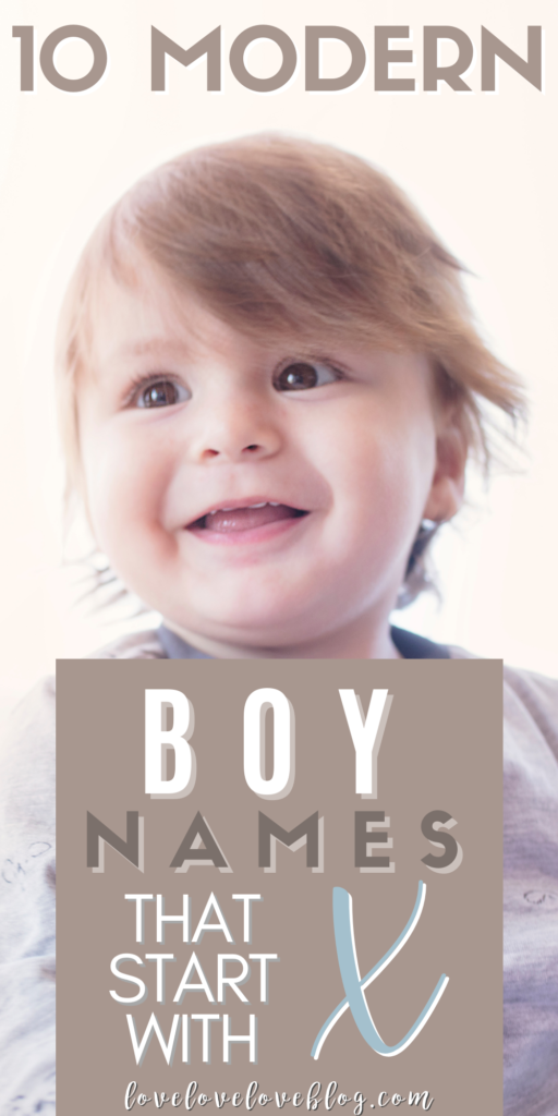 Pinterest graphic with text and baby boy.