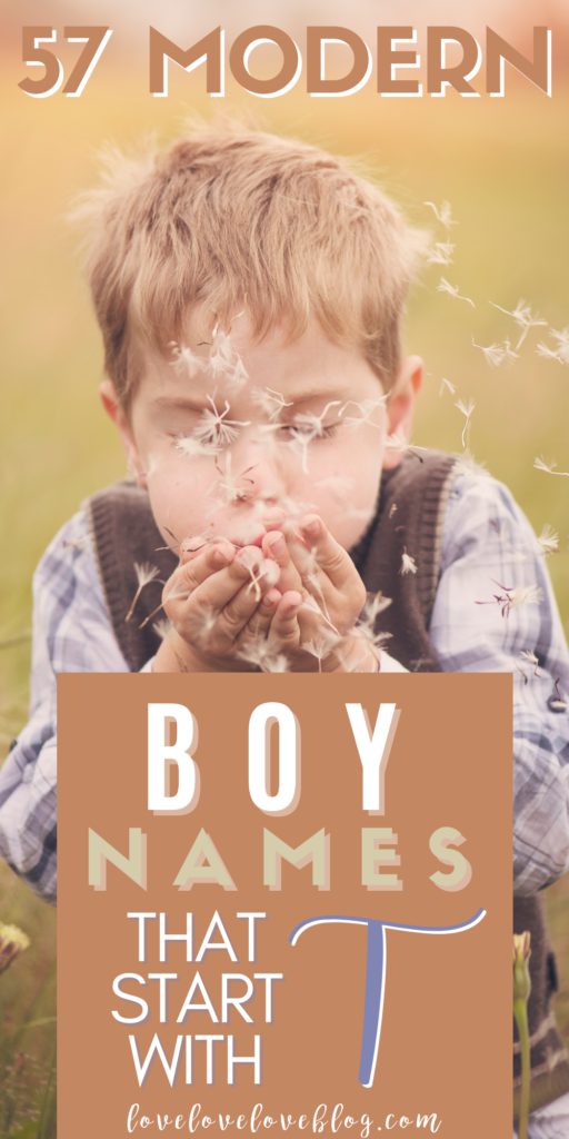 Pinterest graphic with text and little boy blowing dandelion flower.