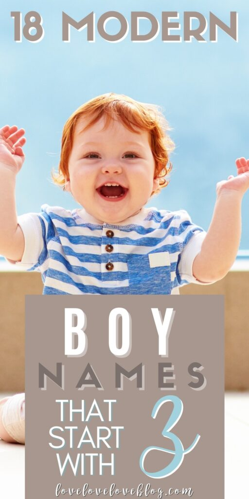 Pinterest graphic with text and happy baby boy.